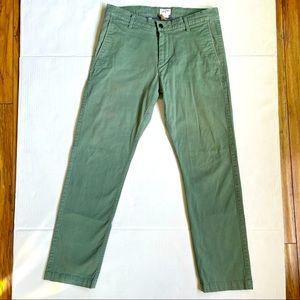 Premium Casual Comfort Pants Alpha Green slim fit